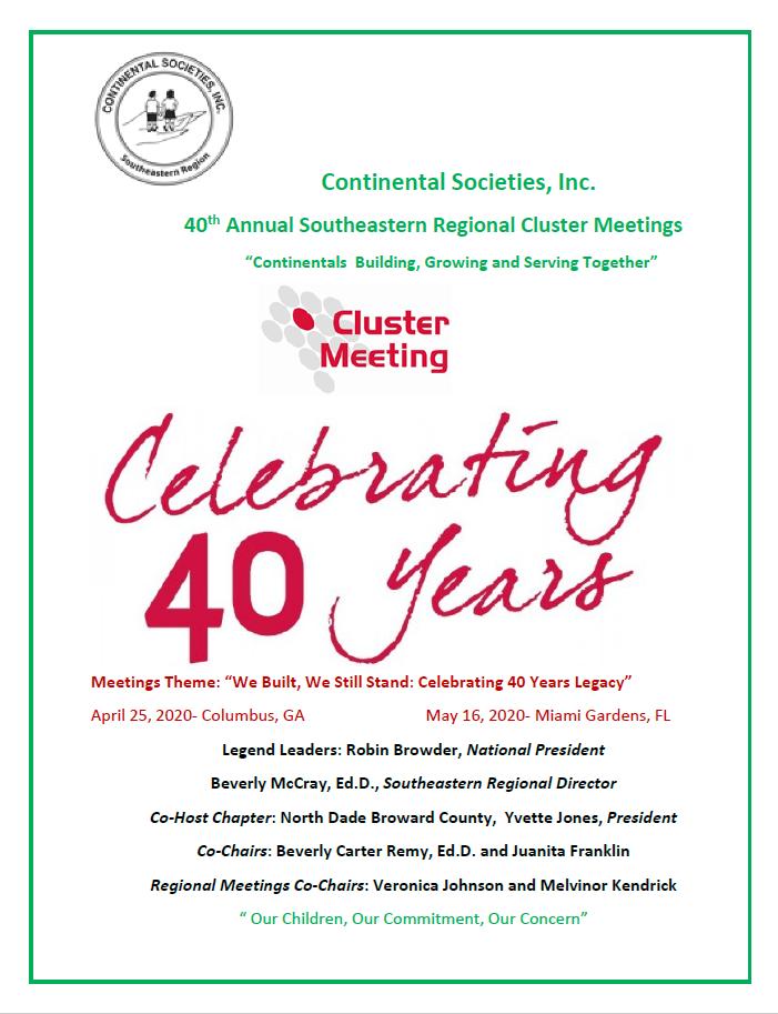 Cluster Meeting